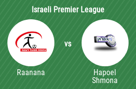 Hapoel Ra'anana Association Football Club vs Hapoel Ironi Kiryat Shmona F.C.