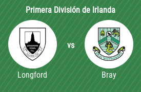 Longford Town FC vs Bray Wanderers AFC