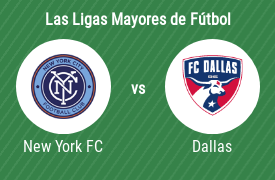 New York City Football Club vs FC Dallas