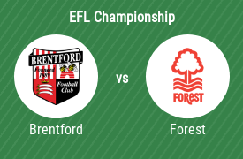 Brentford Football Club mot Nottingham Forest FC
