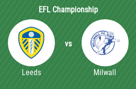 Leeds United FC mot Millwall Football Club
