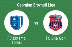 Football Club Dinamo Tbilisi vs Football Club Dila Gori