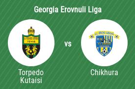 FC Torpedo Kutaisi vs FC Chikhura Sachkhere