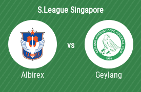 Albirex Niigata Singapore FC mot Geylang International Football Club