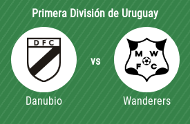 Danubio Fútbol Club vs Montevideo Wanderers Fútbol Club