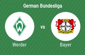 SV Werder Bremen vs Bayer Leverkusen
