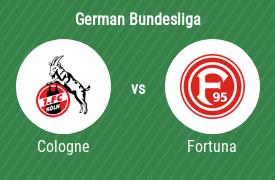 FC Cologne vs Fortuna Dusseldorf