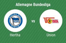 Hertha Berlin vs Union Berlin