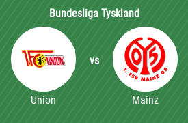 1. FC Union Berlin mot FSV Mainz 05