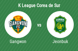 Gangwon Football Club vs Jeonbuk Hyundai Motors FC