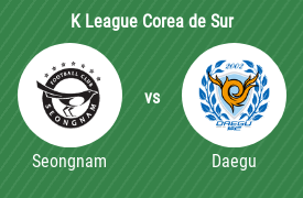 Seongnam FC vs Daegu Football Club
