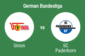 1. FC Union Berlin vs SC Paderborn 07