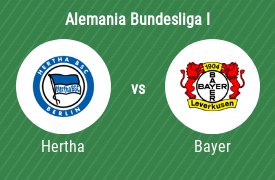 Hertha BSC vs Bayer 04 Leverkusen