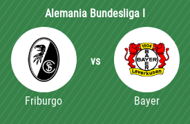Sport-Club Friburgo vs Bayer 04 Leverkusen