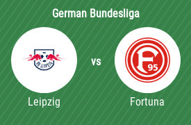 RB Leipzig vs Fortuna Dusseldorf