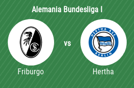 Sport-Club Friburgo vs Hertha BSC