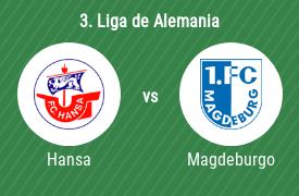 FC Hansa Rostock vs 1. FC Magdeburgo