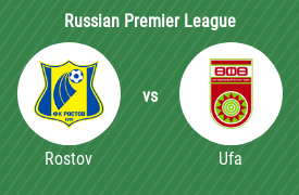 Football Club Rostov vs Football Club Ufa