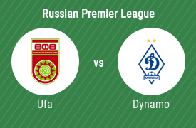 Football Club Ufa vs MGO Dynamo Moscow