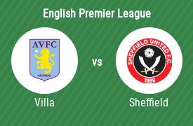 Aston Villa FC vs Sheffield United FC