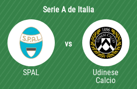 SPAL 2013 vs Udinese Calcio 1896