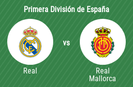 Real Madrid Club de Fútbol vs Real Club Deportivo Mallorca