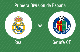 Real Madrid Club de Fútbol vs Getafe Club de Fútbol