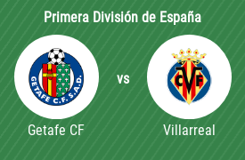 Getafe Club de Fútbol vs Villarreal Club de Fútbol
