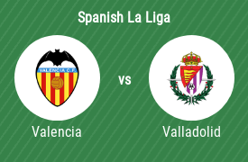 Valencia CF vs Real Valladolid SAD