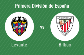 Levante Unión Deportiva vs Athletic de Bilbao