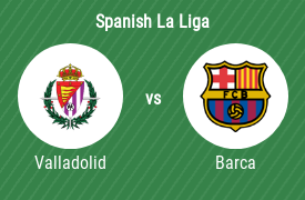 Real Valladolid SAD vs FC Barcelona