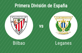 Athletic de Bilbao vs Club Deportivo Leganés