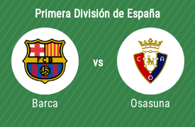 Fútbol Club Barcelona vs Club Atlético Osasuna