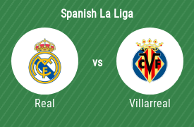 Real Madrid CF vs Villarreal CF