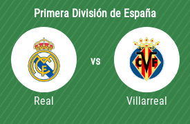 Real Madrid Club de Fútbol vs Villarreal Club de Fútbol