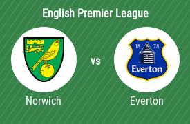 Norwich City Football Club vs Everton FC