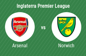 Arsenal Football Club vs Norwich City Football Club