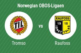 Tromso IL vs Raufoss IL Fotball