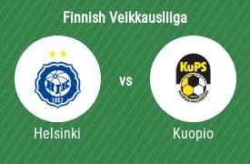 HJK Helsinki vs Kuopion Palloseura