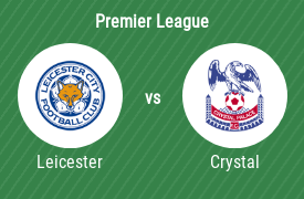 FC Leicester City gegen Crystal Palace