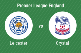 Leicester City FC mot Crystal Palace