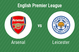 Arsenal FC vs Leicester City FC