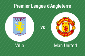 Aston Villa vs Man United