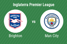Brighton & Hove Albion FC vs Manchester City Football Club