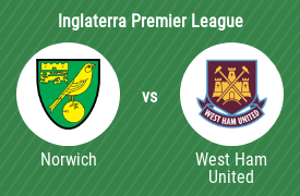 Norwich City Football Club vs West Ham United FC