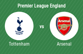Tottenham Hotspur mot Arsenal Football Club