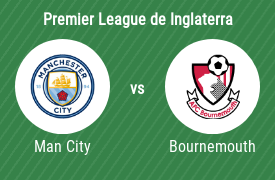 Manchester City Football Club vs AFC Bournemouth