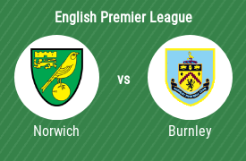 Norwich City Football Club vs Burnley FC