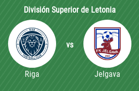 Riga Football Club vs FK Jelgava
