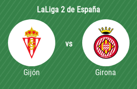 Real Sporting de Gijón vs Girona Fútbol Club